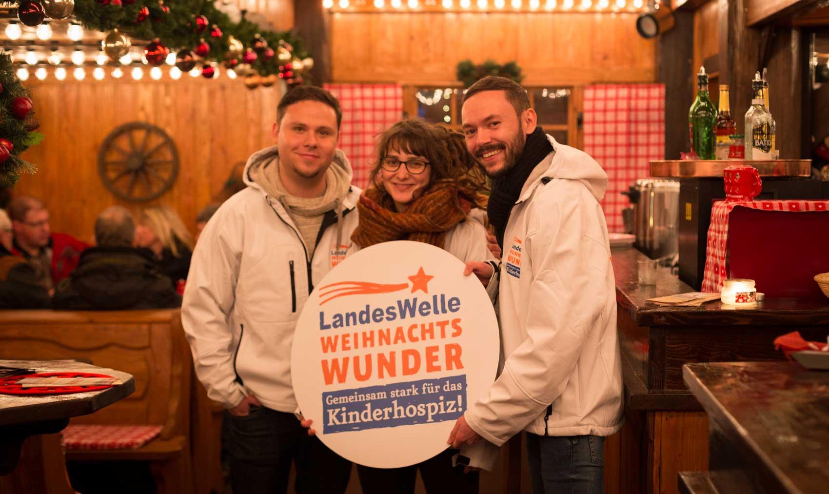 Die Landeswelle Thüringen auf Schillers Weihnacht